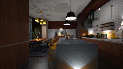 EXTRAORDINARY MID CENTURY - Kitchen  - by zarky