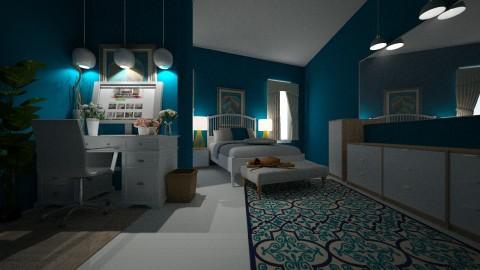 TEEN BEDROOM2 - Feminine - Bedroom - by DMLights-user-1593471