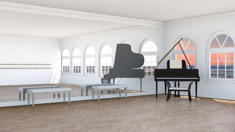Dance Studio  - Classic - by n i n i