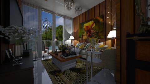 Sunday morning - Modern - Living room  - by Maria Helena_215