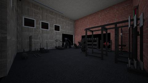 Future Barn gym - by rogue_d310a29055d3d51f8799a7730c2d4
