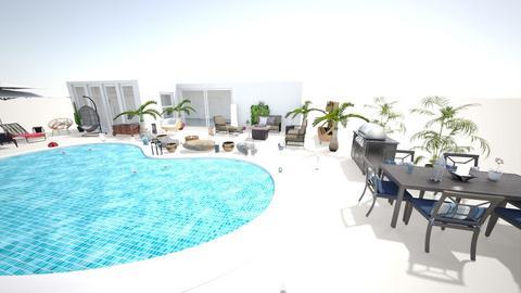 pool - Garden - by jdenae3