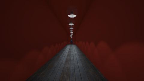 Horror hallway - by MyMom