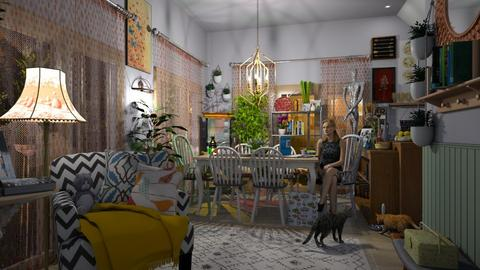 max living - Eclectic - Living room  - by donella