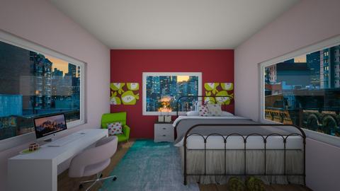 kaitlyn fruit  - Bedroom  - by KaitlynLogan2023