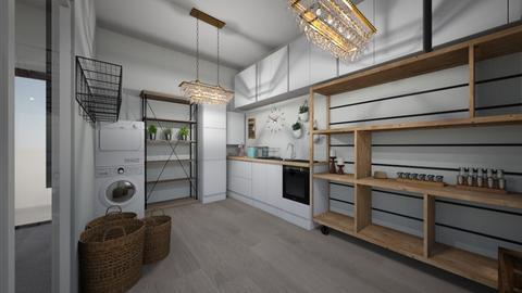 my dream butlers kitchen - Kitchen - by emartin1