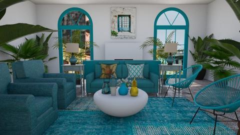 Havana Living - Living room  - by nkanyezi