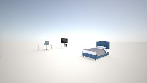 3d room  - Bedroom  - by Aleksitis4