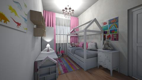 holcici pokoj - Kids room  - by HanaDocekalova