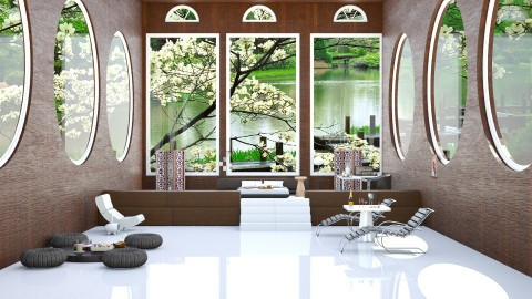 Some Call It Zen  - Modern - Bedroom - by InteriorDesigner111