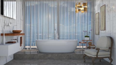 Greg - Minimal - Bathroom  - by Claudia Correia