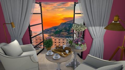 Breakfast view - by Maryjo1965