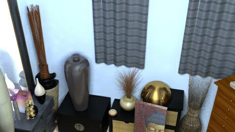 buddah bedroom start - Bedroom - by deejustdee