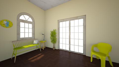 Banana room - Vintage - Living room  - by alishamcatee123