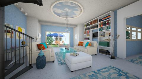 BluU - Eclectic - Living room  - by Saj Trinaest