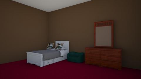 Strawberry - Bedroom  - by lucasbeltran