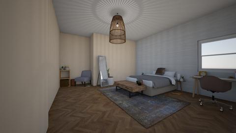 Bohemian minimalist   - Minimal - Bedroom  - by Zaria UwU