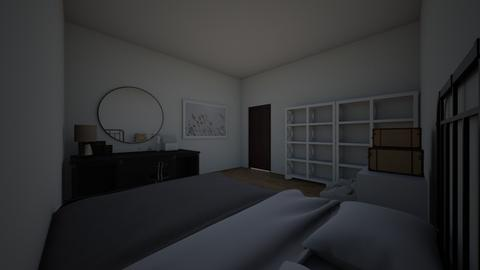 room in mindes - Modern - Bedroom  - by dna22224