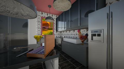 Farmer Kitchen Black - by Kristi McDaniel