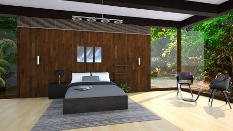 Slick Temperament - Modern - Bedroom  - by Mythrintia