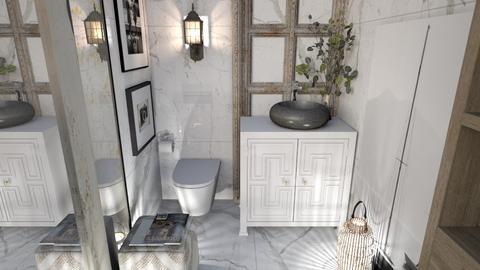 Arty toilet - by KimAlys