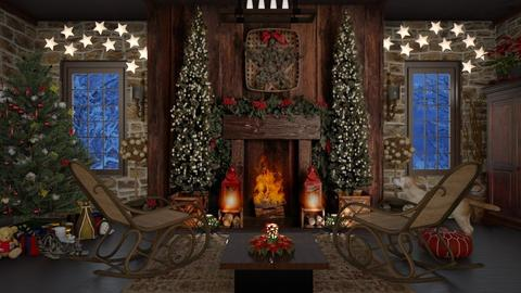 Design 485 Merry Christmas - Living room  - by Daisy320