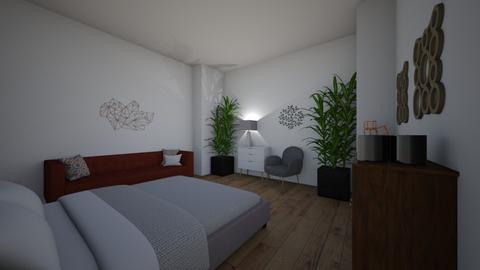bedroom - Living room  - by skateboredgirl