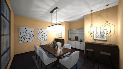 harmony  - Dining room - by gabagail45