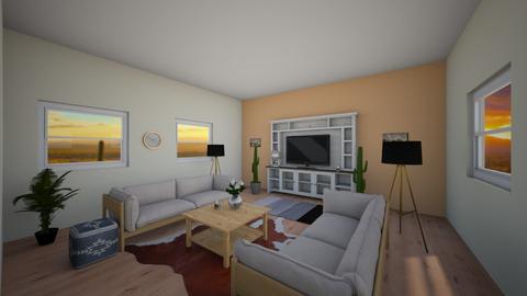 Friday Challenge 5 - Living room  - by 22blauveltm