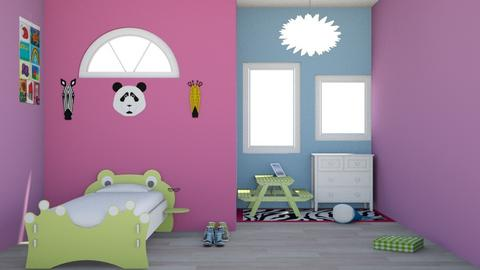 Animal Themed Kids room - Glamour - Kids room  - by sophiefleah
