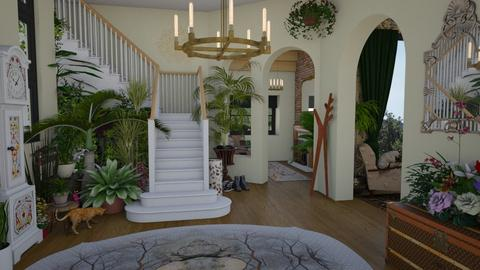 Jungle Hall - by Nicky West
