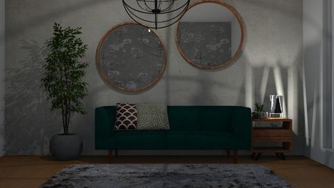 salinha - Living room - by Tainaraa