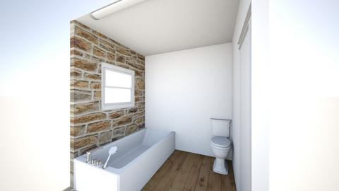 Bathroom temp - Rustic - Bathroom  - by Devonance