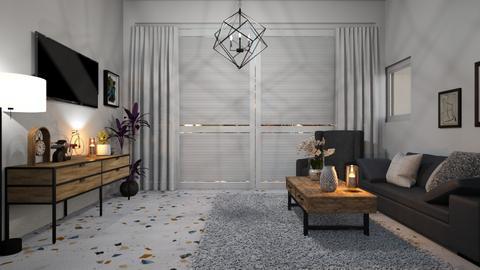 living me - Living room  - by valerie libert