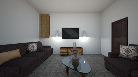 Guest room - Living room  - by Ahmad Aziz