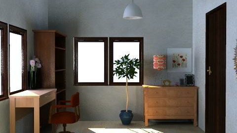 Syudy Room - Minimal - by fujimi