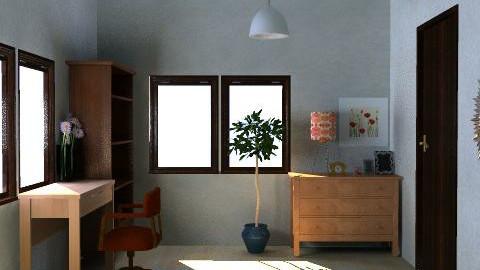 Syudy Room - Minimal - by fujimi