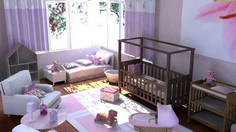 Baby Niece Nursery - Kids room  - by Calolynn