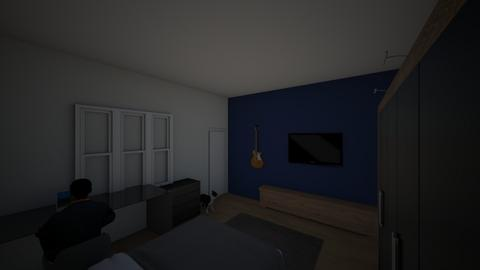 my actual bedroom - Minimal - Bedroom  - by mathheus