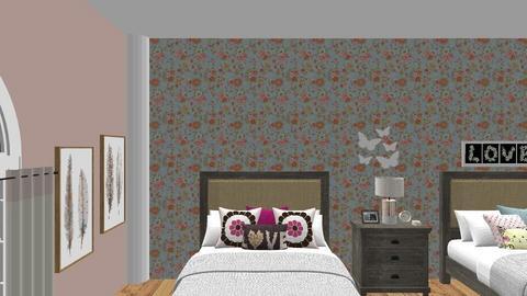 Twin Girls Room - Kids room  - by trishk82