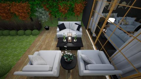 3rd patio picture - Living room  - by jeverage