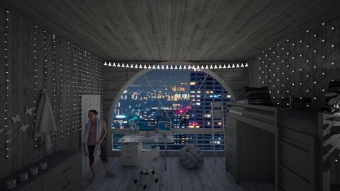 Old style room - Rustic - Bedroom  - by aslinamariabatista