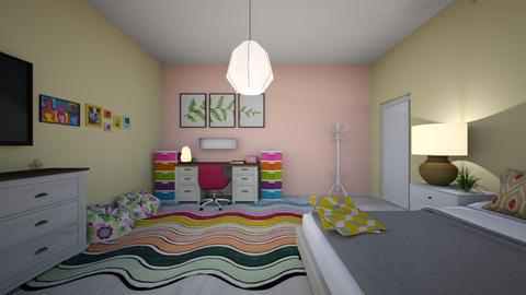 housing project - Bedroom  - by alyssaeug