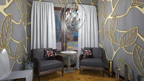 A la russe - Living room  - by rechnaya