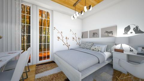 Autumn morning - Modern - Bedroom - by ljiljanan