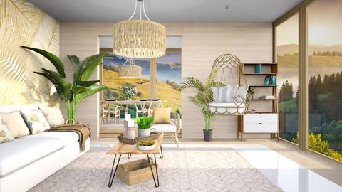 Natural Tones - Living room  - by Feeny