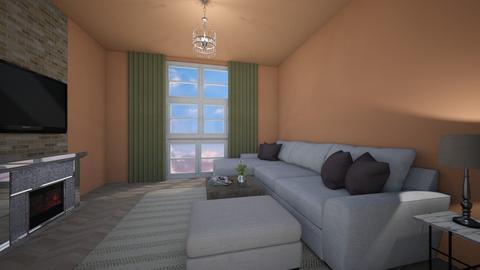 Simple Hotel Living room - Modern - Living room  - by greekgirl37