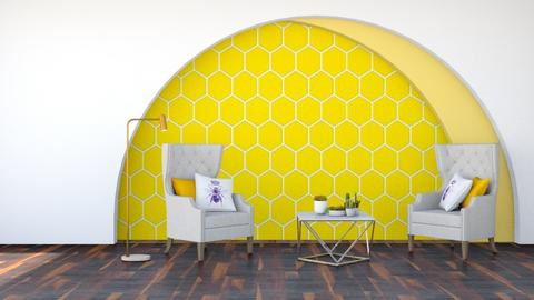 Bee Inspired Living Room - Living room  - by SouthernDeco