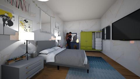 Sweet dreams - Bedroom  - by aguilardaruby