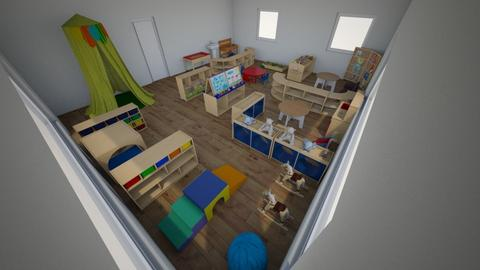 1 - Kids room  - by kaszandi